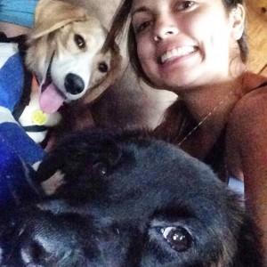 Gemma is already a selfie pro